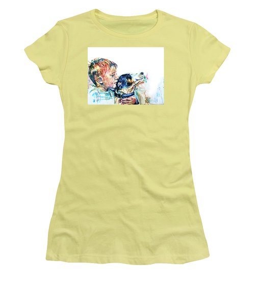 That's My Boy Women's T-Shirt (Athletic Fit)