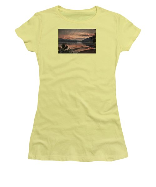 The Adventure Begins Women's T-Shirt (Athletic Fit)