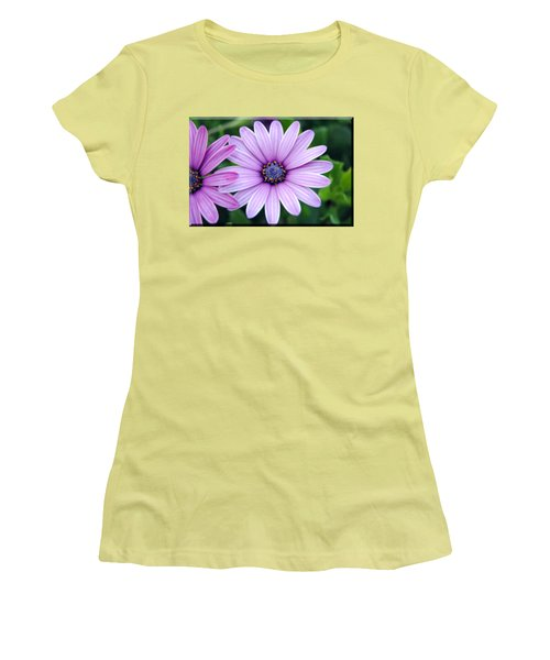 The African Daisy T-shirt 2 Women's T-Shirt (Junior Cut) by Isam Awad