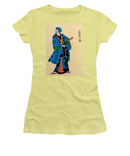 The Age Of The Samurai 03 Women's T-Shirt (Junior Cut) by Dora Hathazi Mendes