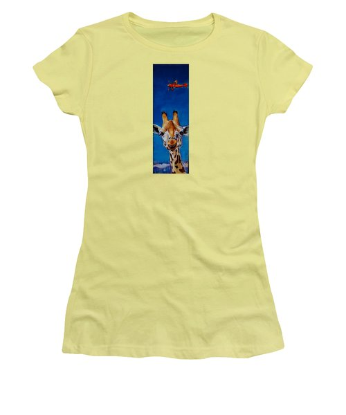 The Air Up There Women's T-Shirt (Athletic Fit)