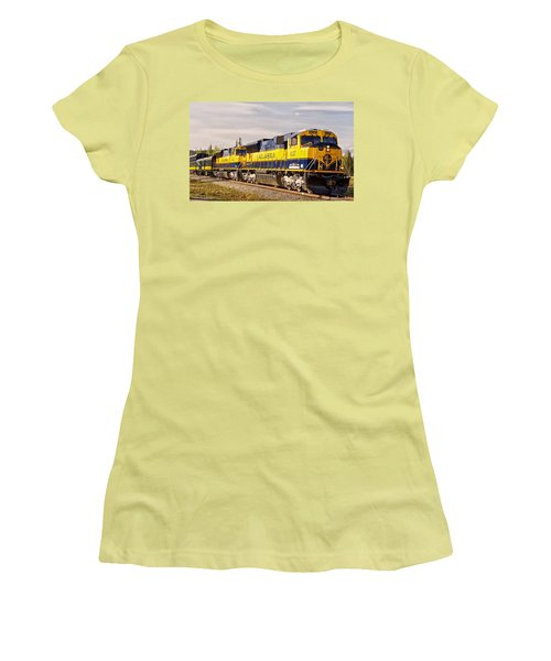 The Alaska Railroad Women's T-Shirt (Athletic Fit)