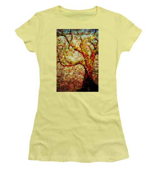 The Ancient Tree Of Wisdom Women's T-Shirt (Athletic Fit)
