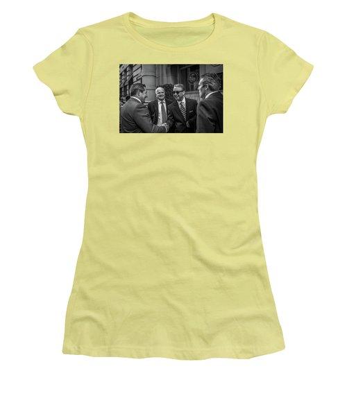 The Art Of The Deal Women's T-Shirt (Junior Cut) by David Sutton
