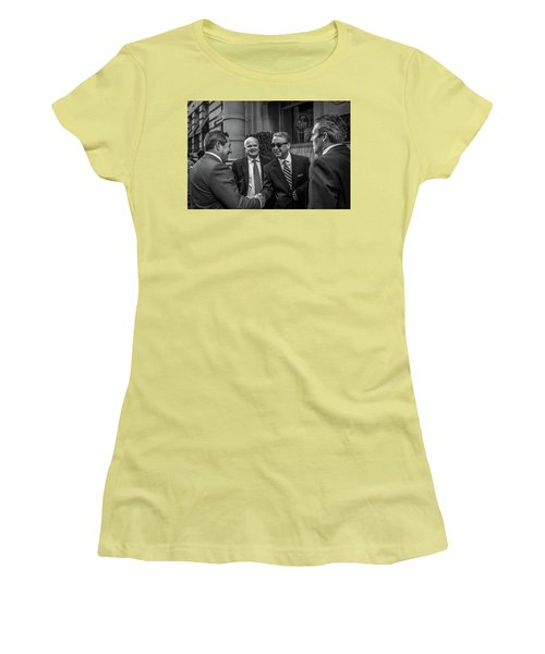 The Art Of The Deal Women's T-Shirt (Athletic Fit)