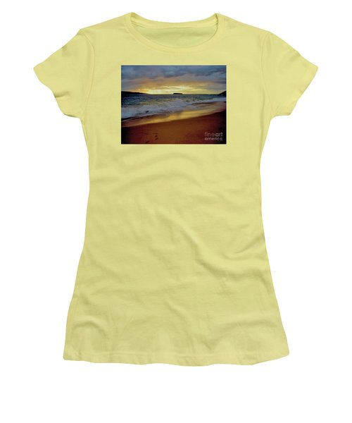The Aura Of Molokini Women's T-Shirt (Junior Cut) by Victor K