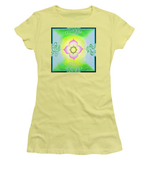 The Bagua Of The Heart Women's T-Shirt (Athletic Fit)