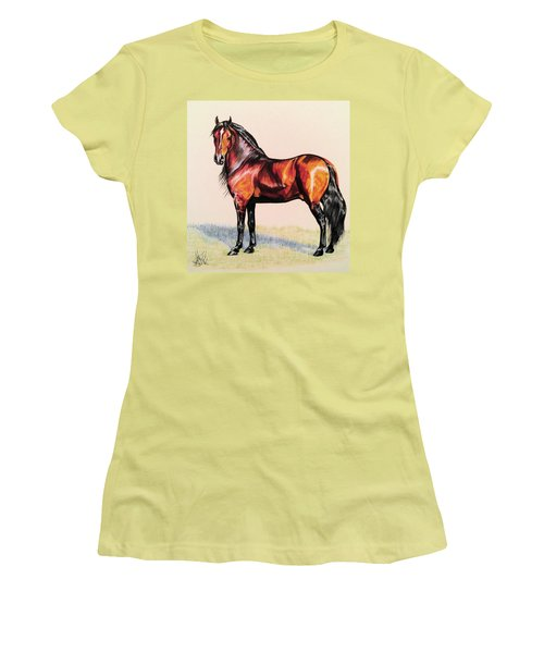 The Baroque Bay Women's T-Shirt (Athletic Fit)