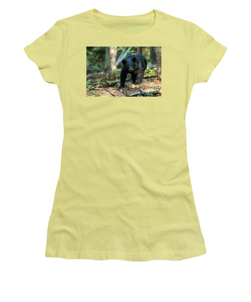 Women's T-Shirt (Junior Cut) featuring the photograph The Bear by Everet Regal