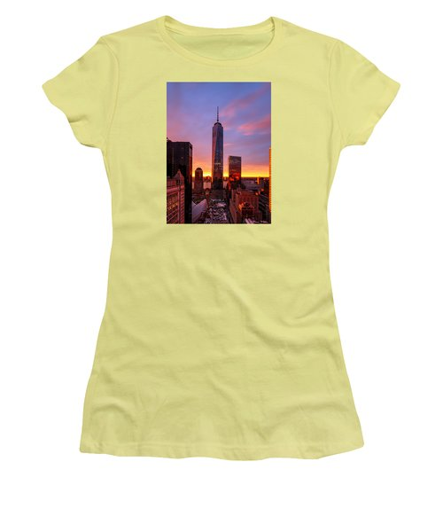 The Beauty Of God Women's T-Shirt (Junior Cut) by Anthony Fields