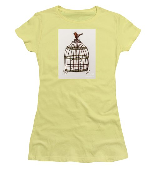 The Birdcage Women's T-Shirt (Athletic Fit)