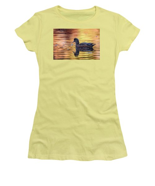 The Birds Of Autumn No. 4 Women's T-Shirt (Junior Cut) by Keith Boone