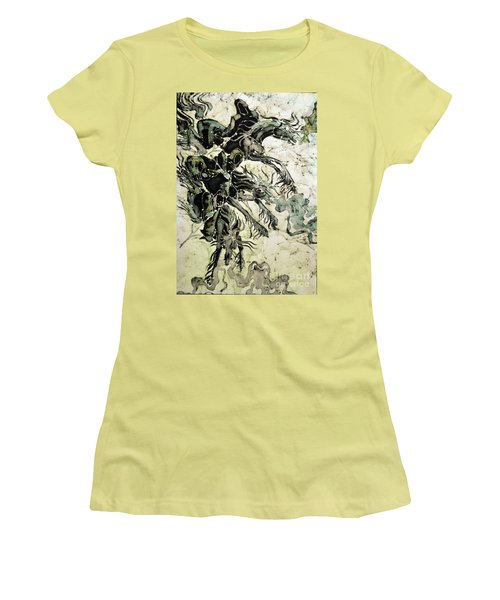 The Black Riders Descend Women's T-Shirt (Athletic Fit)