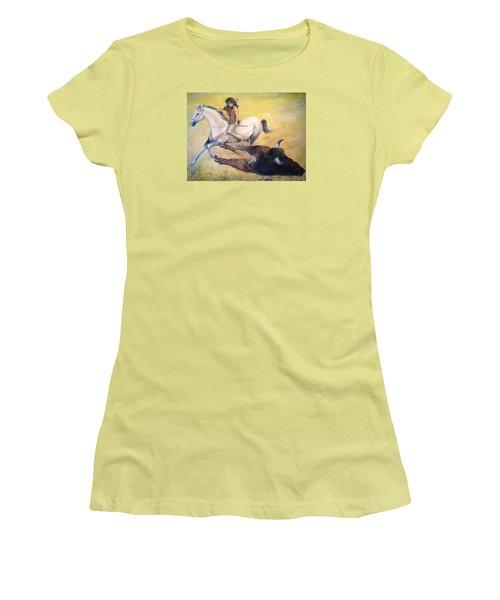 The Blessing Women's T-Shirt (Junior Cut) by Alan Lakin