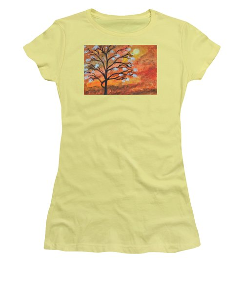 The Blossom Women's T-Shirt (Athletic Fit)