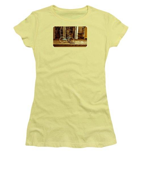 The Blue Bike Women's T-Shirt (Athletic Fit)