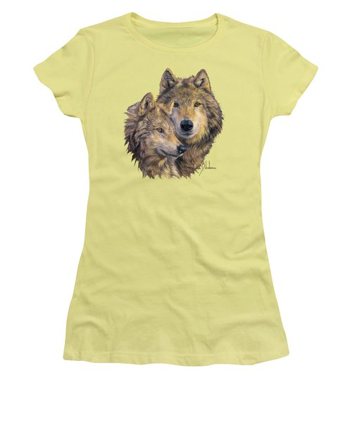 The Bond Women's T-Shirt (Junior Cut) by Lucie Bilodeau
