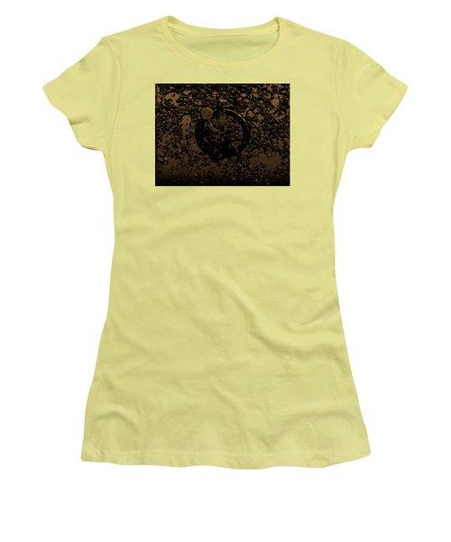 The Boston Celtics 1f Women's T-Shirt (Junior Cut) by Brian Reaves