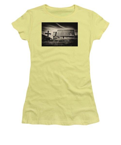 The Butter Church - 365-41 Women's T-Shirt (Junior Cut) by Inge Riis McDonald
