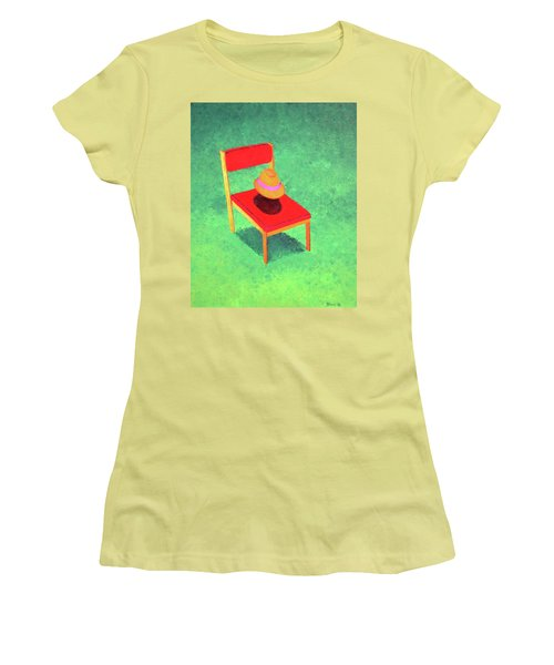 The Chat Women's T-Shirt (Junior Cut) by Thomas Blood
