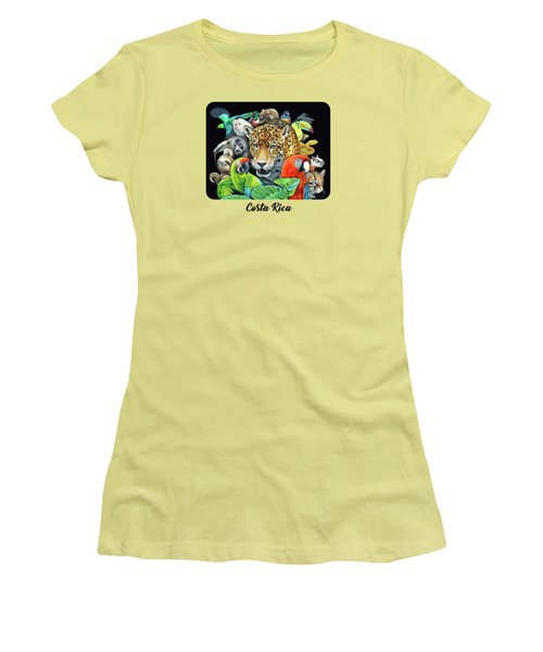 The Circle Of Life Women's T-Shirt (Junior Cut) by Nathan Miller