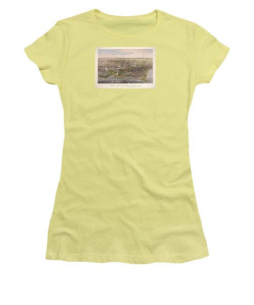 The City Of Washington Women's T-Shirt (Athletic Fit)