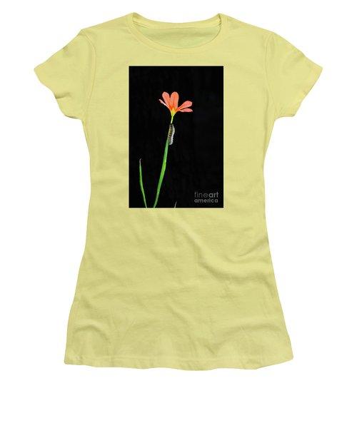 The Climb Women's T-Shirt (Junior Cut) by Cassandra Buckley