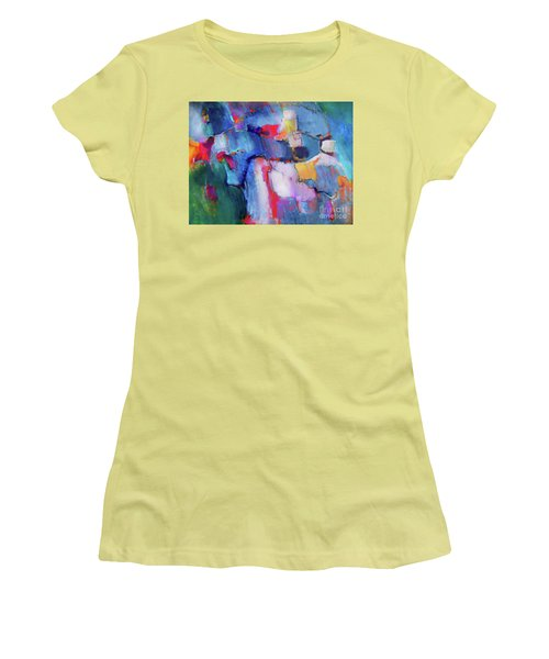 The Collaboration Women's T-Shirt (Athletic Fit)