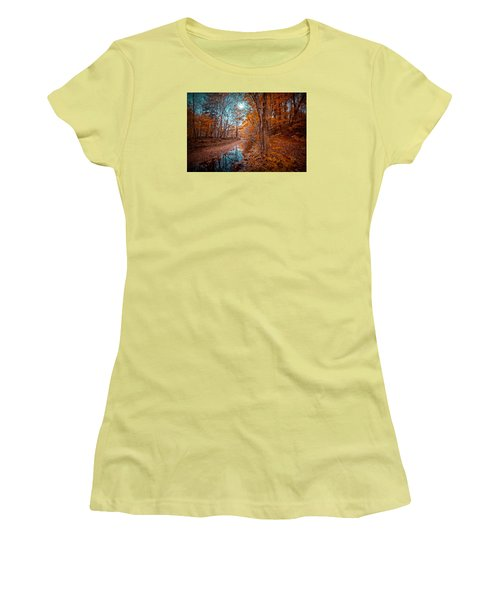 The Color Of Fall Women's T-Shirt (Athletic Fit)