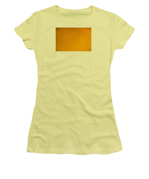 Women's T-Shirt (Athletic Fit) featuring the photograph The Color Of Rust by Wanda Krack