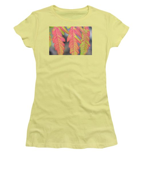 The Colors Of Shumac 8 Women's T-Shirt (Junior Cut) by Victor K