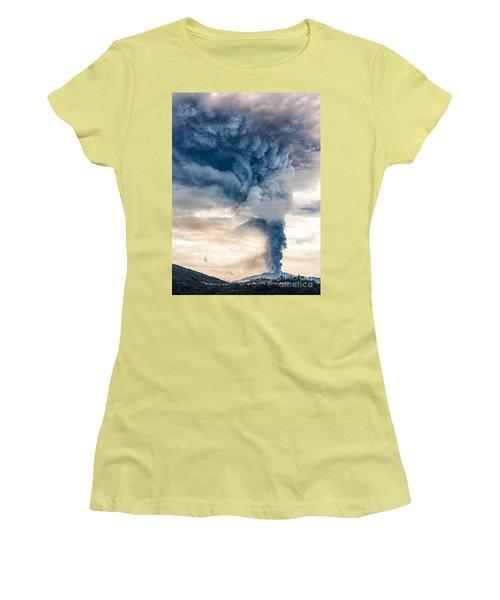The Column Women's T-Shirt (Junior Cut) by Giuseppe Torre