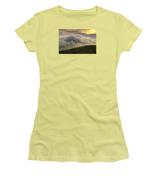 Summer Storm - Roan Mountain Women's T-Shirt (Athletic Fit)