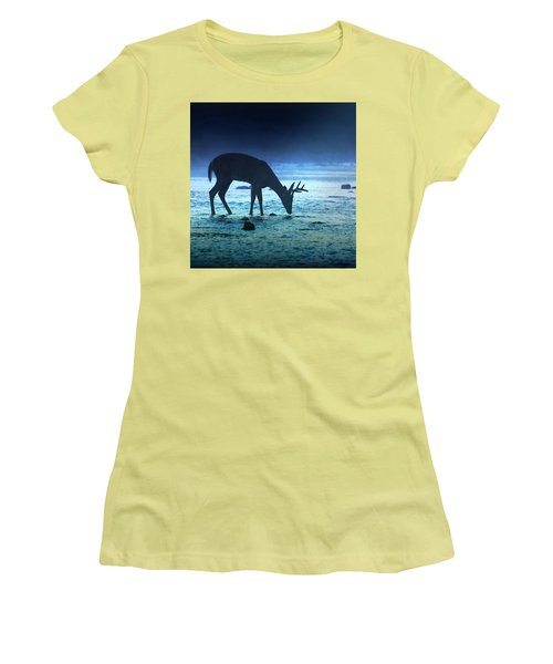 The Cool Of The Night - Square Women's T-Shirt (Athletic Fit)