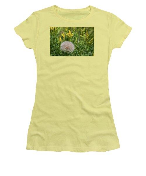 The Dandelion  Women's T-Shirt (Athletic Fit)