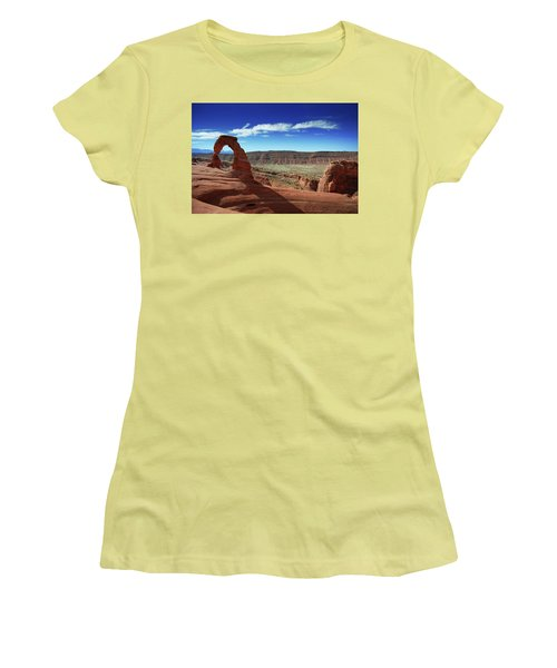 The Delicate Arch Women's T-Shirt (Athletic Fit)