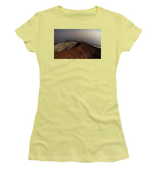 The Descent Women's T-Shirt (Athletic Fit)