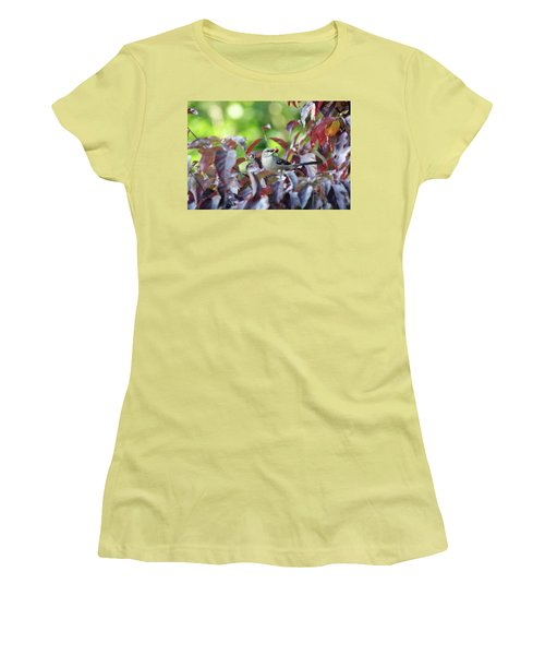 The Dogwood Diner Women's T-Shirt (Junior Cut) by Trina Ansel