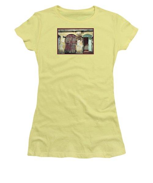 The Doors Of San Juan Women's T-Shirt (Athletic Fit)
