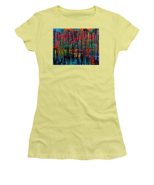 The Drip Women's T-Shirt (Athletic Fit)