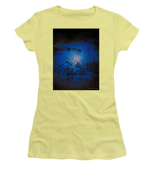 The Edge Of Night Women's T-Shirt (Athletic Fit)