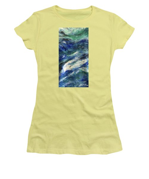 The Elements Water #4 Women's T-Shirt (Athletic Fit)