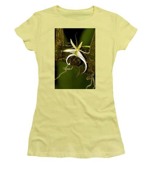The Elusive And Rare Ghost Orchid Women's T-Shirt (Athletic Fit)