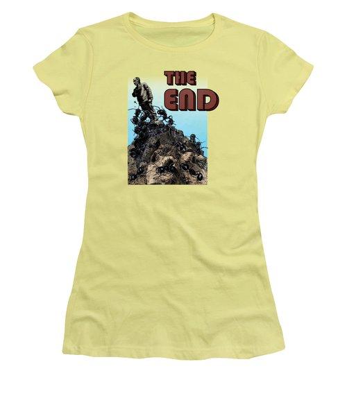 The End Women's T-Shirt (Junior Cut) by Joseph Juvenal