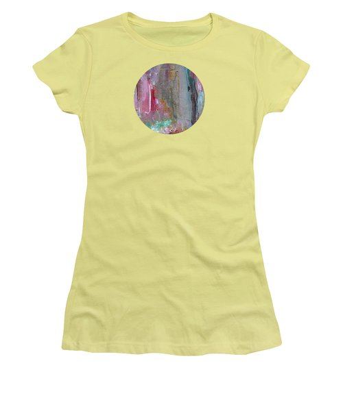 Women's T-Shirt (Junior Cut) featuring the painting The Entrance by Mary Wolf
