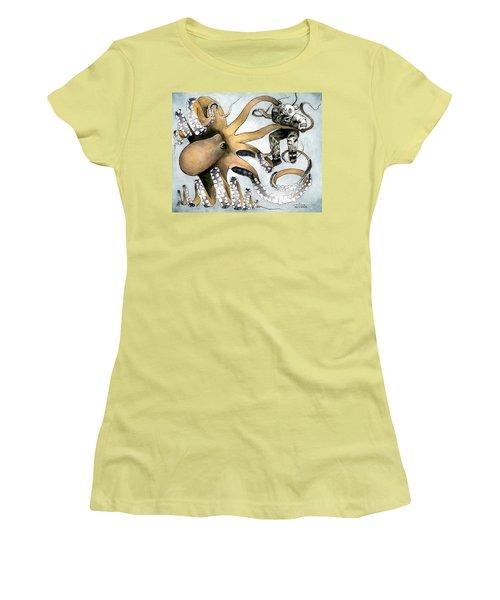 The Explorer Women's T-Shirt (Junior Cut) by Arleana Holtzmann