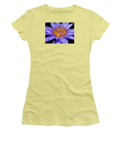 The Eye Of The Water Lily Women's T-Shirt (Athletic Fit)