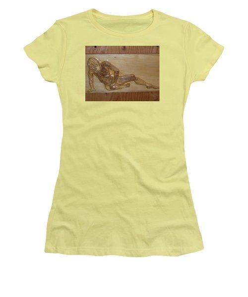 The Fallen Soldier Women's T-Shirt (Athletic Fit)