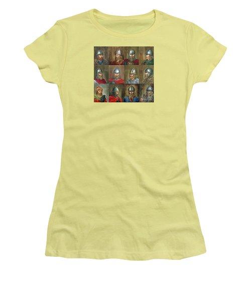 The Famous Vikings Women's T-Shirt (Junior Cut) by Arturas Slapsys