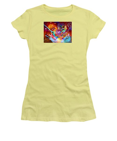 The Fathers Paint Brush Women's T-Shirt (Athletic Fit)